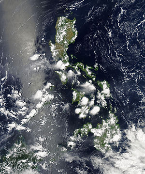 Climate of the Philippines - Evening Thunderstorms, bringing rain over the Philippines is common from March to October.