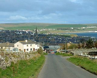 Thurso town in Caithness, Scotland
