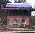 Thuxton signal box construction 2011.jpg