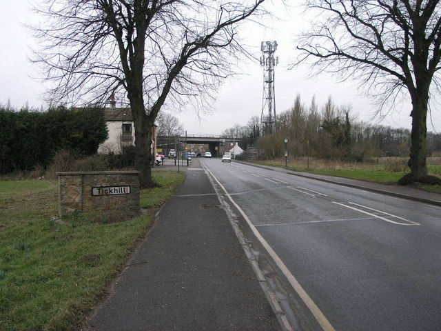 Tickhill from the East - geograph.org.uk - 134096