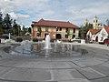 Time spiral fountain (S), Dozsa Square, 2016 Dunakeszi.jpg