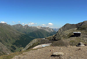 Timmelsjoch - View from Timmelsjoch to the South