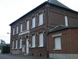 The school in Tincourt-Boucly