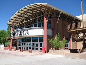 Tingley Coliseum - Image: Tingley Coliseum, Albuquerque NM