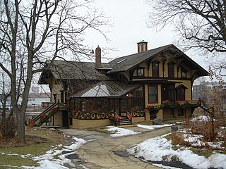Tinker Swiss Cottage United States national historic site