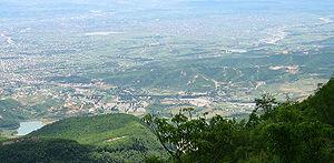 Kamëz - Kamza seen from Mount Dajti