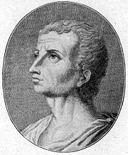 A portrait of Titus Livius made long after his death.