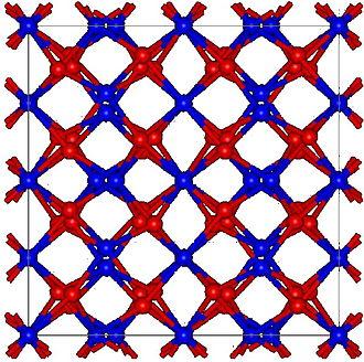 Erbium(III) oxide - Image: Tl 2O3structure