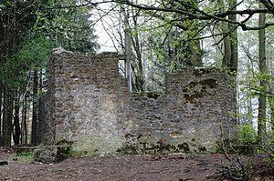 Oerlinghausen - Hünenkapelle, old church in Oerlinghausen.