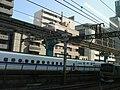 Tokaido Shinkansen & Local line shared hydro pole 01.jpg