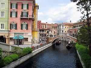 Tokyo DisneySea - Re-creation of Venice