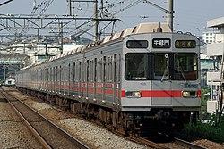 8590系(田園都市線用の10両編成) 東京急行電鉄 東横線に8090系を導入 12/27