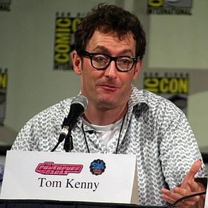 SpongeBob SquarePants (character) - Tom Kenny provides the voice of SpongeBob SquarePants.
