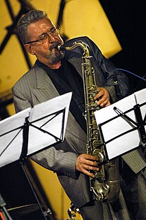 Tomasz Szukalski Polish jazz saxophone player, composer and improviser