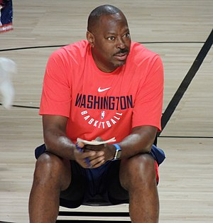 Tony Brown (basketball) - Brown at 2017 Washington Wizards training camp