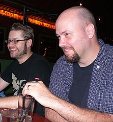 Tony Moore and Jason Aaron.jpg