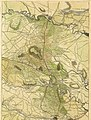 Topographical map of Eastern Virginia From Fredericksburg to Richmond taken from tracings (now in the possession of the government) of the original railroad surveys of this portion of the state, (17117128020).jpg