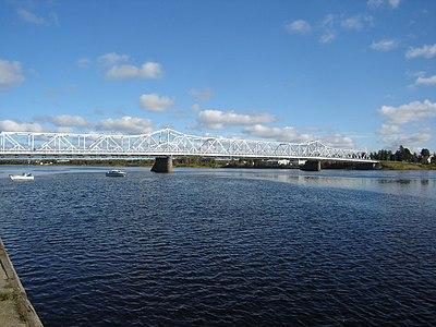 Bron mellan Haparanda och Torneå