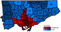 Toronto mayoral election results by ward 2010.PNG