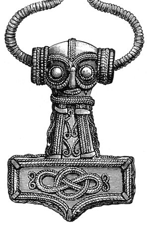 Whitehead link - Old Thor's hammer archaeological artefact