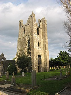 Tower of St. Mary's Church, Duleek
