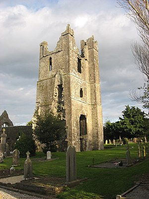 Duleek - Tower of St. Mary's Church, Duleek