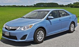 Mid-size car - The mid-size Toyota Camry