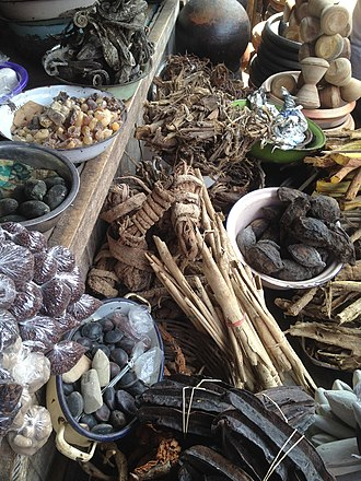 Traditional African medicine - Image: Traditional Medicine