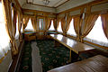 Train carriage interior - Historical exhibition of railway rolling stock in Kyiv 23.jpg