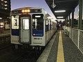 Train of Matsuura Railway at Imari Station 2.jpg