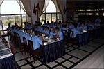 Trainee Midshipmen interact with the Crew of INS Satpura over lunch at INA, 2017.jpg