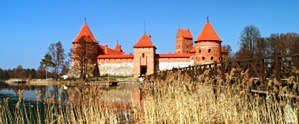 Skirgaila - Trakai Island Castle. For ten years Skirgaila was Duke of Trakai.