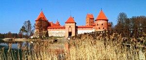 Skirgaila - Trakai Island Castle. For ten years Skirgaila was Duke of Trakai.