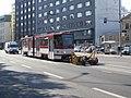 Tram 146 with Unit at Viru Stop in Tallinn 25 August 2015.JPG