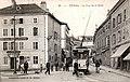 Tramway Epinal La-rue-de-la-gare 1908.jpg