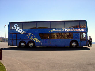 Trathens Travel Services - Trathens StarLiner at the Western National Rally, Plymouth 28 July 2002