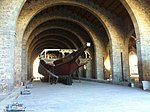 Treballs de restauració Drassanes Reials de Barcelona (19).JPG