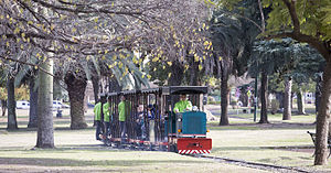 Avellaneda Park Historic Train - The train after the reopening.