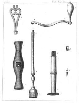 Trepanning instrument (1)