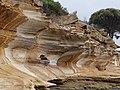 Triassic Sandstone on Maria Island of Tasmania in Australia.jpg