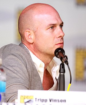 Tripp Vinson - Vinson at the 2013 San Diego Comic Con International