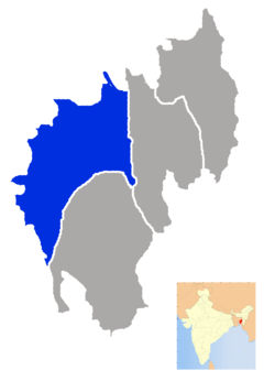 Tripura West district map.png