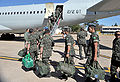 Troops depart Brasilia for Haiti 2010-07-20 1.jpg