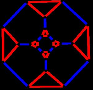 Archimedean graph - Image: Truncated cubic graph