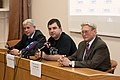 Trunin, Novoselov, Samarskiy at press conference 2.jpg