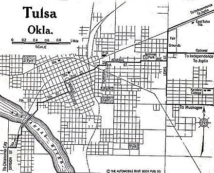 A map of Tulsa in 1920 Tulsa OK Map 1920.jpg