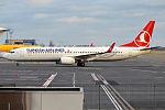 Turkish Airlines, TC-JYN, Boeing 737-9F2 ER (23238692164).jpg