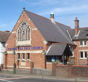 West Street Baptist Church, East Grinstead - In 1824, members of Zion Chapel established a daughter church at nearby Turners Hill (present building pictured).