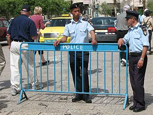 Two Palestinian police in Manger Square 1649 (506917455) (cropped).jpg