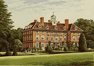 Charles Yorke - Tyttenhanger House in 1840